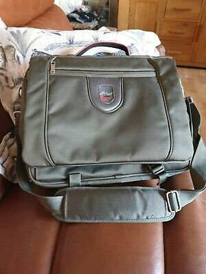 Swiss Travel Products Quality  Laptop Travel  Messenger Bag Khaki 16 X 14   • 4.99£