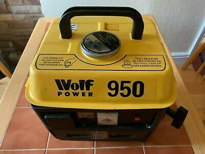 Wolf Power 950 Generator In Full Working Order • 75£