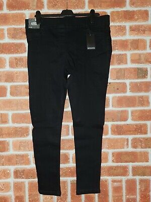 Simply Be Black Jeggings Size 18R • 12.17£