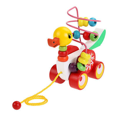 Toys For Children Educational Toys 0-3 Year Olds Duckling Trailer Round  • 8.11£