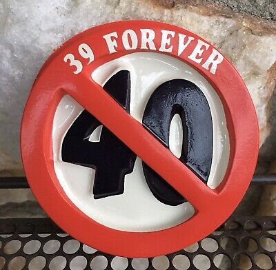 Vintage 39 Forever 40 Pop Tops Cake Topper Decoration 90s Store Stock Birthday • 3.58£