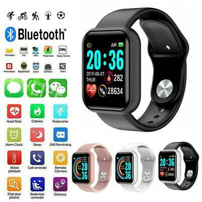 AU17.99 • Buy For IPhone Samsung Smart Watch Sport Bracelet Heart Rate Fitness Tracker IP67 AU