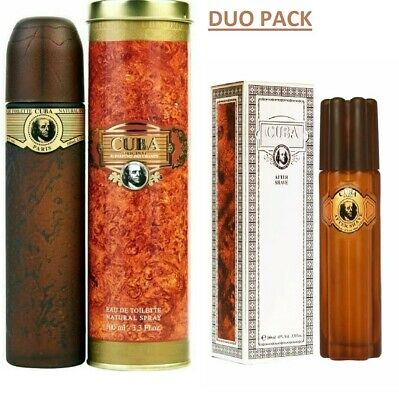 £16.49 • Buy Cuba Gold Original Perfum 100ml Edt And Cuba Aftershave 100ml Combi Pack Gift