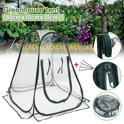 Mini Pop Up Garden Plants Flowers Cover Tent PVC Greenhouse Cloche Propagator UK • 12.49£