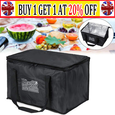 Food Delivery Insulated Bags Pizza Takeaway Thermal Warm/Cold Bag Ruck WS UK • 11.99£