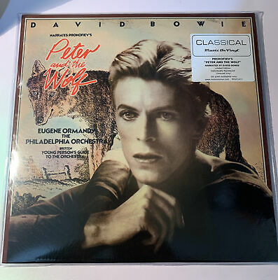 £59.95 • Buy David Bowie - Peter And The Wolf [180 Gm COLOURED  Numbered Vinyl]