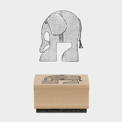 £2.49 • Buy East Of India Rubber Stamp Humphrey Elephant 3.6 X 4cm Wood Backed New