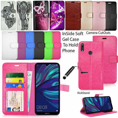 For Huawei Y7 2018 Y7 2019 Case Wallet Cover Leather Flip Book Protector  • 2.95£