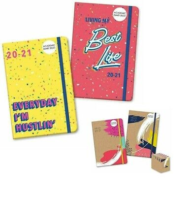 1 X 2020-2021 Diary A5 Week To View Day Academic Diary Student Teacher Diary • 2.99£
