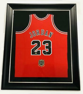 AU90409.45 • Buy MICHAEL JORDAN Autographed Bulls  2009 HOF  Authentic Red Jersey UDA LE 9/123