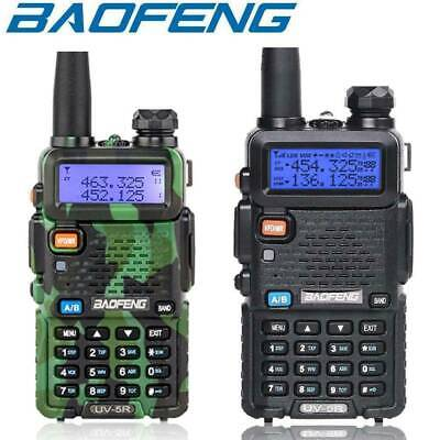 UV5R VHF/UHF Dual Band USB Two Way Ham Radio Walkie Talkie +Earphones 1800mAh UK • 4.99£