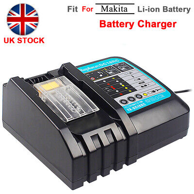 Replace Charger For Makita DC18RC 14.4V-18V LXT Lithium Battery BL1415 BL1850 UK • 18.69£