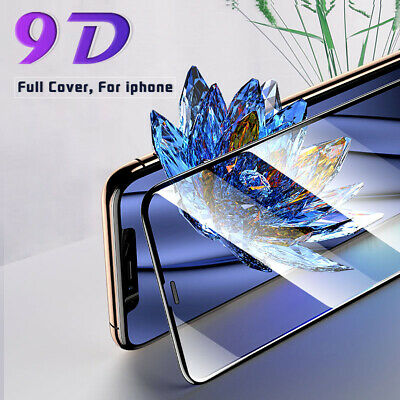 For IPhone 11,11 Pro, 11 Pro Max,XR Full Gorilla Tempered Glass Screen Protector • 3.55£