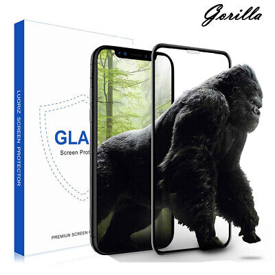 9D Curved Gorilla Tempered Glass Full Screen Protector For New Apple IPhone XR • 4.74£