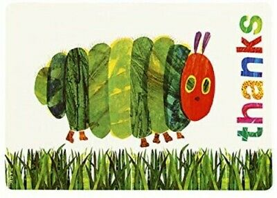 12 Hungry Caterpillar Thank You Cards & Envelopes Party Supplies • 2.65£