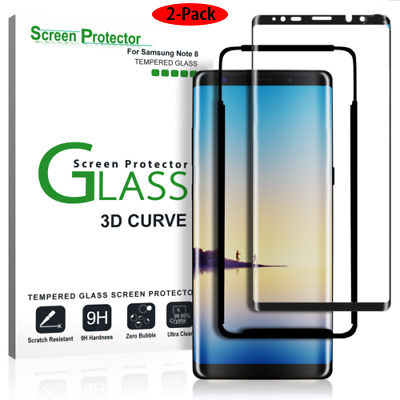 $ CDN4.46 • Buy For Samsung Galaxy Note 8 Full Cover 9H Tempered Glass Screen Protector 2-Pack