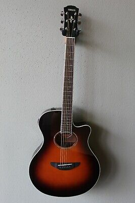 Brand New Yamaha APX600 Acoustic/Electric Guitar With Gig Bag - Sunburst • 225.78£