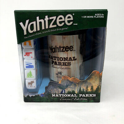 AU21.25 • Buy NEW Hasbro Yahtzee National Parks Travel Edition Dice Game Road Trip Car Games