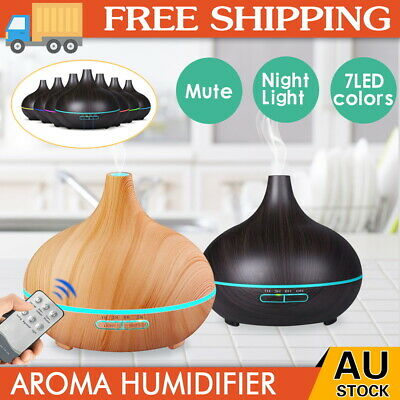 AU20.89 • Buy Ultrasonic Aroma Aromatherapy Diffuser Oil Electric Air Humidifier Essential LED