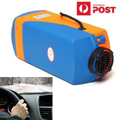 AU161.93 • Buy 3KW-5KW 12V Air Diesel Heater Blue+Yellow For Cars Trucks Motor-homes Boats Bus
