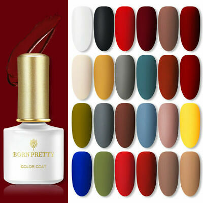 BORN PRETTY 6ml UV Gel Nail Polish Soak Off Top Base Coat Varnish Gel Nails • 2.75£