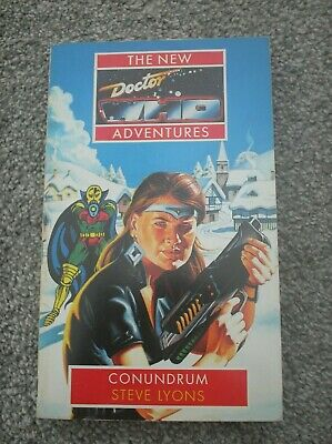Doctor Who Book - Conundrum By Steve Lyons - The New Adventures Paperback • 0.99£