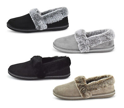 £29.90 • Buy Skechers Womens Slippers Cozy Campfire-Team Toasty 32777 Faux Fur Slippers