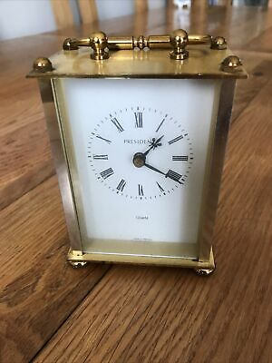 President Quartz Carriage Clock • 1.99£