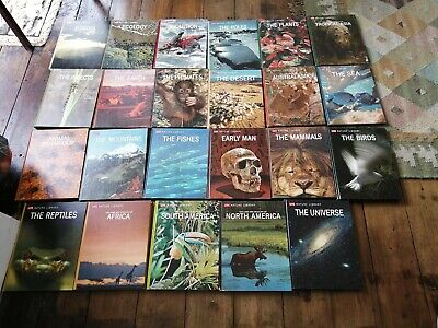 Complete Set Of 23 Hardback Books Life Nature Library • 10£