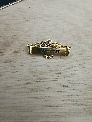 Committee Bowls Badge • 2£
