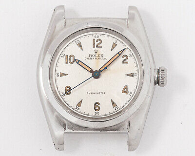 $ CDN2239.86 • Buy Vintage 1950's Rolex Stainless Steel Oyster Perpetual Bubble Back Ref. 2940!