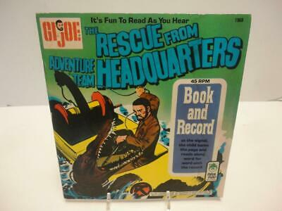 $ CDN18.79 • Buy Vintage GI Joe Adventure Team Book & Record Rescue From Headquarters