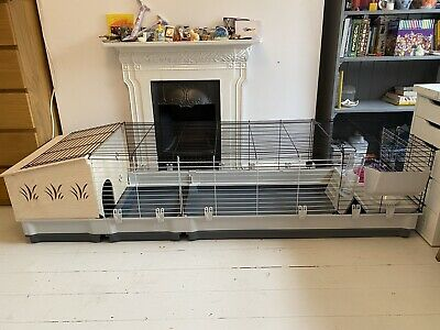 Ferplast 160cm XL Small Animal / Rabbit Cage With Extension • 4.50£