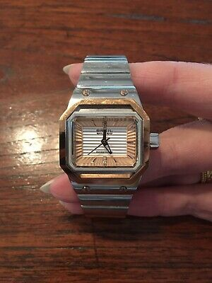Breil Milano WR10 ATM Womens Watch - Silver & Rose Gold - Excellent Condition • 75£