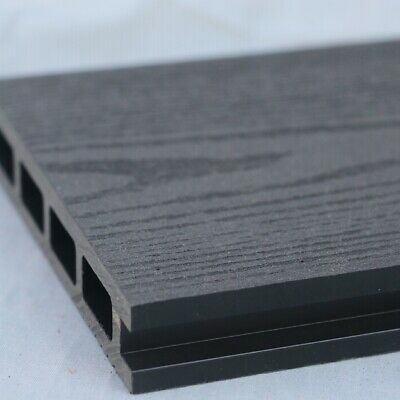 £13.50 • Buy Grey Wood Effect Composite Decking | 25 Board Pack | Covers 10 Square Metres