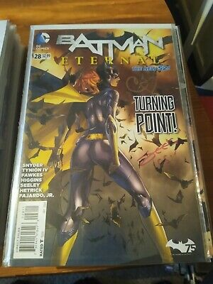 Batman Eternal #28 Signed By Mann And Seeley With Coa   Dc Comics First Print  • 3£