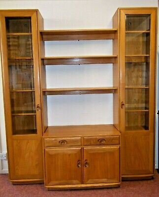 £1895 • Buy Ercol Windsor Tall Display Cabinets And Sideboard