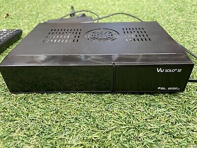 Genuine VU+ Solo2 Twin Tuner Satellite TV Box OpenVix • 69£