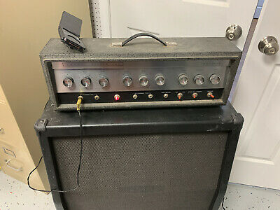 $ CDN981.15 • Buy SILVERTONE 1484 TWIN TWELVE GUITAR TUBE AMP-Early 60s 100% Original W/Reverb!