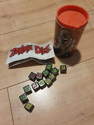 Zombie Dice Game - Complete  • 11.30£