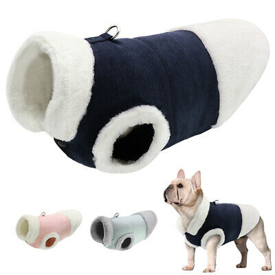 £6.69 • Buy Small Dog Coats For Winter Fleece Warm Pet Jackets Chihuahua Clothes Yorkshire