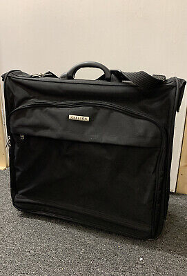 Carlton Black Free Standing Suit Garment Carrier Cabin Travel Bag Hand Luggage • 14.99£