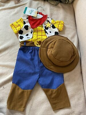Disney Baby Toy Story Woody Costume / Outfit With Hat 6-12 Months  • 19.99£