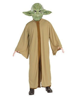 Star Wars Kids Yoda Costume Style 1, L Age 8-10 Height 142-152 Cm • 24.99£