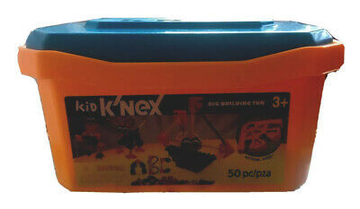 Knex Big Building Tub /Set Style With DOUBLE PCS :  X99 INSTEAD OF 50 Pieces!! • 6.50£