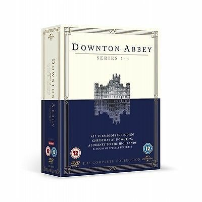 Downton Abbey - Series 1-4 - Complete (DVD, 2013, 13-Disc Set, Box Set) • 4£