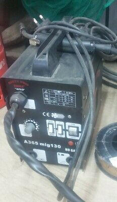 Gasless Mig Welder 130 New No Gas 120A • 40£