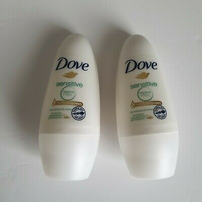 Dove Sensitive Unfragranced Unscented Anti Perspirant Deodorant 48 Hour Roll On • 2.99£