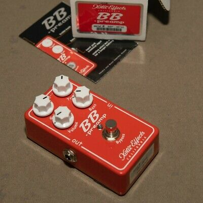 Xotic Effects BB Preamp V1.5 Pedal • 62.07£