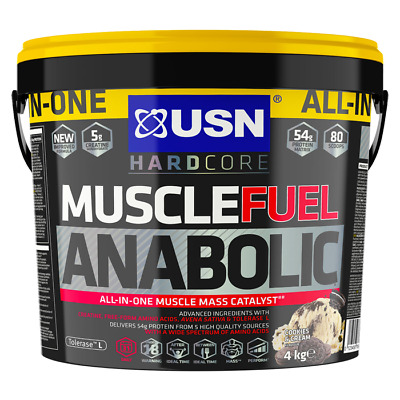 USN Muscle Fuel Anabolic All-In-One Lean Muscle 4kg Plus Sample • 51.99£